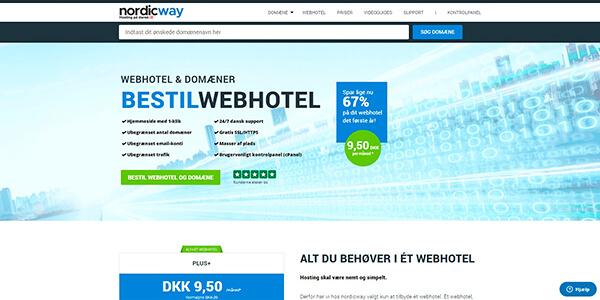 nordicway.dk - billigt webhotel med stor WordPress erfaring
