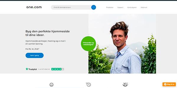 one.com - skift til et billigere webhotel
