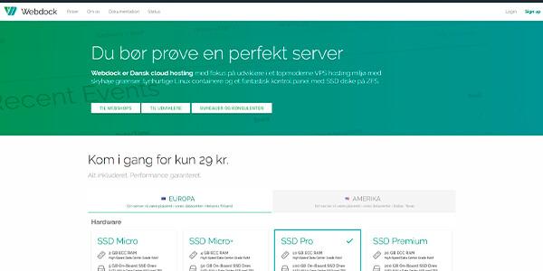 Webdock.io - webhotel der matcher dine ønsker og behov
